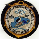 Midway Island Communications Patch