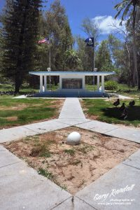 Gooney Bird Monument after.