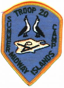Midway Island Boy Scout Patch