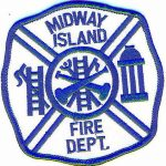 Midway Island Fire Department Patch