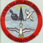 US Navy Sec Gru Acty Midway Eastern Island
