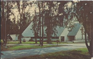 Midway Island Postcard - Chapel