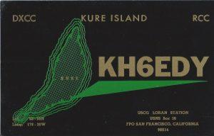 Kure Island QSL Card
