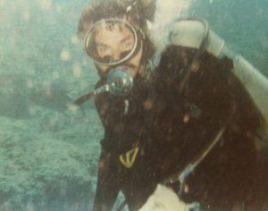 Scuba Diver Jim Reed