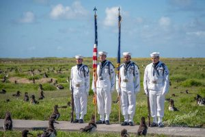 70 Anniversary Battle of Midway Memorial Color Guard