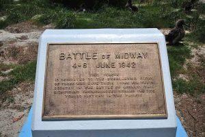 Battle of Midway Memorial Plaque